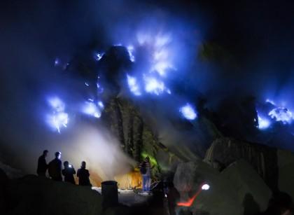 Blue Fire di Kawah Ijen