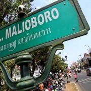 jalan malioboro di yogyakarta