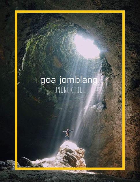 17 Tempat wisata di Yogyakarta Terpopuler - Goa Jomblang