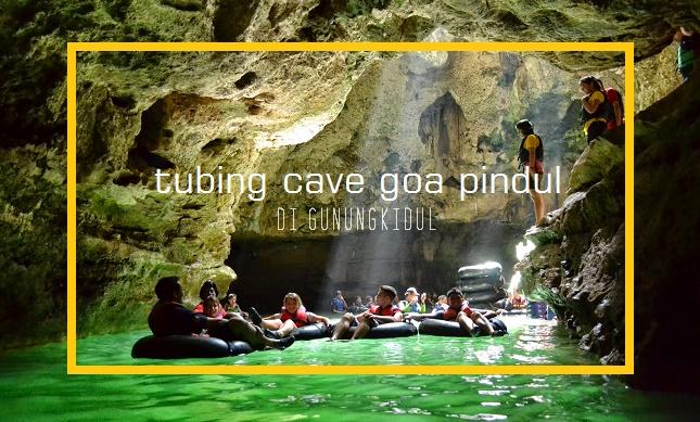 17 Tempat wisata di Yogyakarta Terpopuler - Goa Pindul
