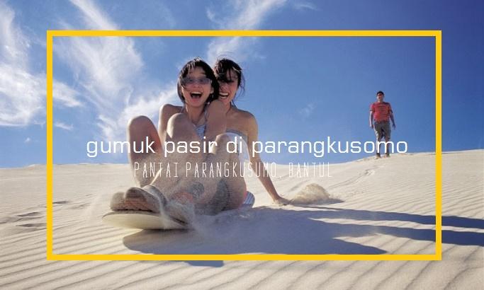 17 Tempat wisata di Yogyakarta Terpopuler - Gumuk Pasir Pantai Parangkusumo
