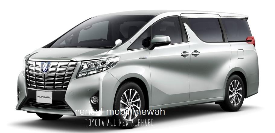 Rental Mobil Mewah di Yogyakarta dengan Toyota Alphard