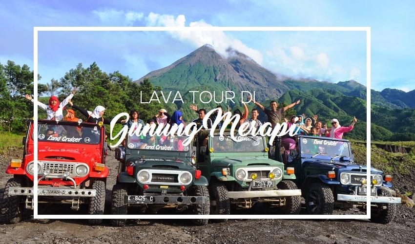 Trip Sehari Tour di Yogyakarta dengan Rental Mobil di Merapi