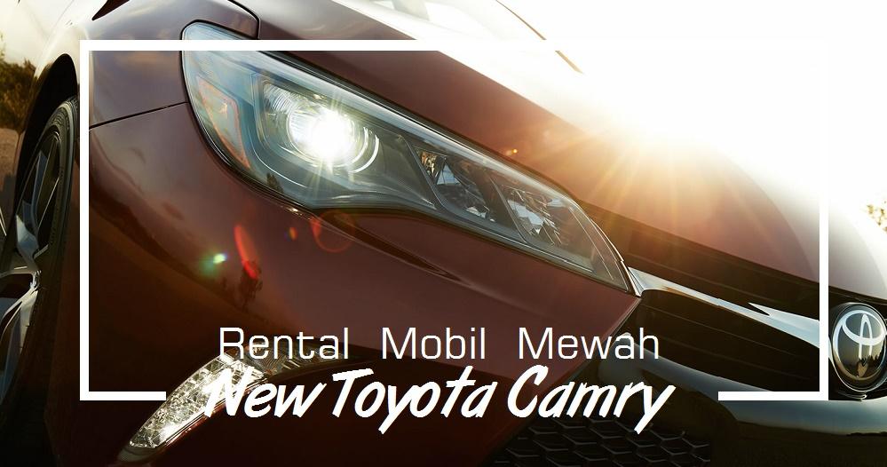 Sewa Mobil Mewah Camry di Yogyakarta