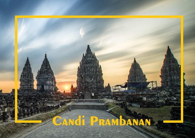 Tempat Wisata di sekitar Airport Yogyakarta - Candi Prambanan