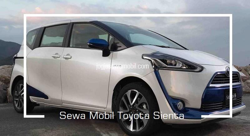 Sewa Mobil Terbaru Toyota Sienta