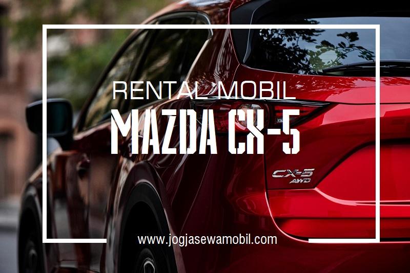 Rental Mobil Mazda CX-5 di Yogyakarta - Ekterior