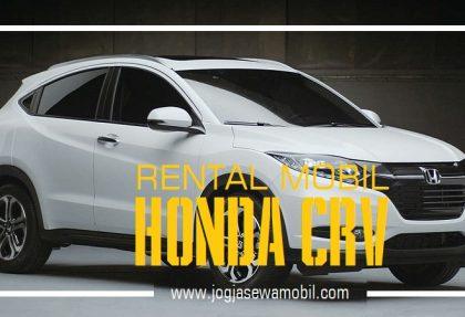 Rental Mobil Honda HRV di Yogyakarta