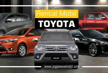 Rental Mobil Toyota di Yogyakarta