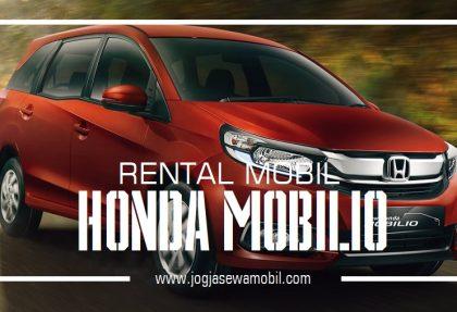 Rental mobil di Yogyakarta dengan Honda Mobilio Terbaru