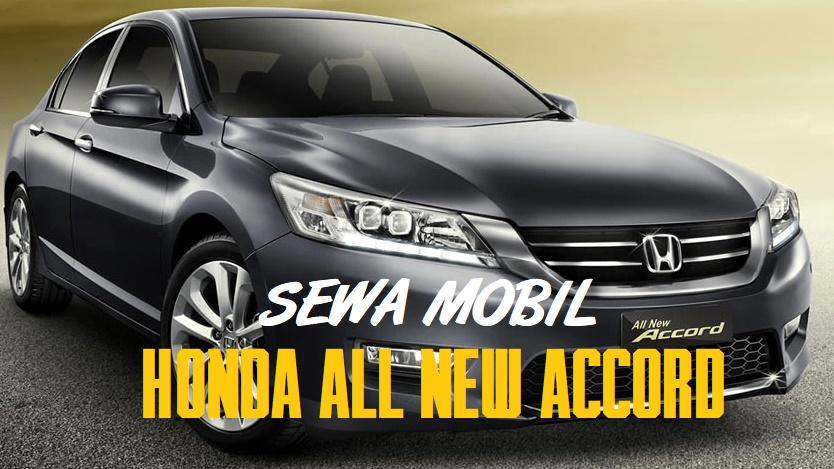 Sewa Mobil Sedan Mewah di Yogyakarta dengan Honda Accord