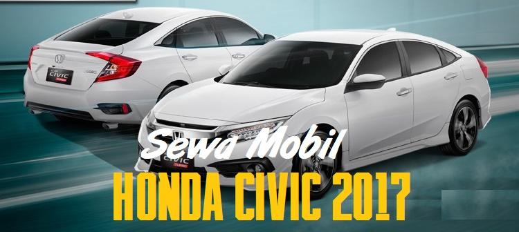 Sewa Mobil Sedan Mewah di Yogyakarta dengan Honda Civic